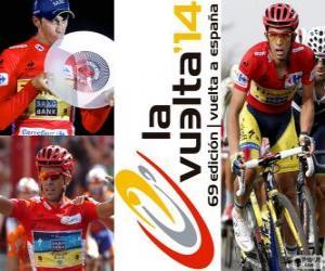Puzle Alberto Contador, campeão da Volta a Espanha 2014