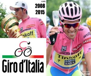 Puzle Alberto Contador, Giro 2015