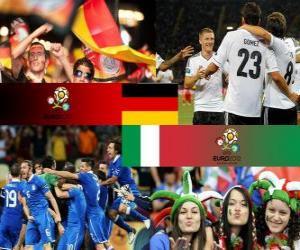 Puzle Alemanha - Itália, semi-finais Euro 2012