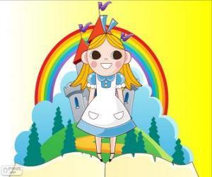 Puzle Alice, a menina no país das maravilhas