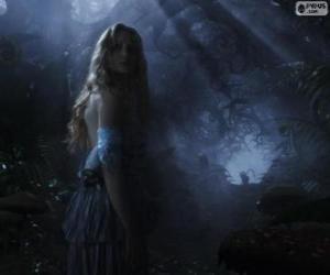 Puzle Alice na floresta