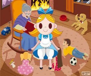 Puzle Alice no país das maravilhas