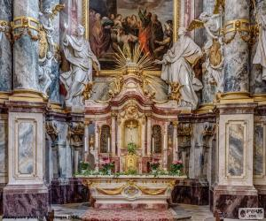 Puzle Altar de igreja
