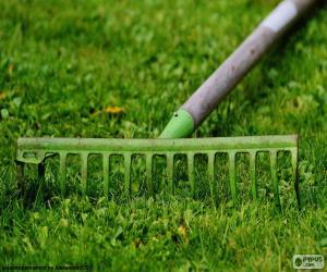 Puzle Ancinho de jardineiro