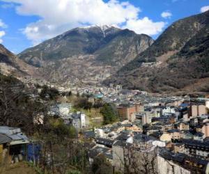 Puzle Andorra a Velha, Andorra