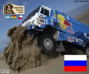 Puzle Andrey Karginov, Dakar 2014
