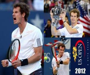 Puzle Andy Murray campeão US Open 2012