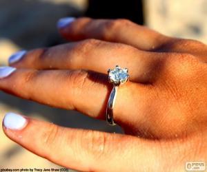 Puzle Anel de noivado