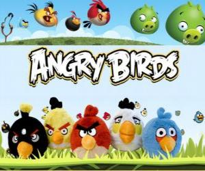 Puzle Angry Birds de Rovio. Video Game