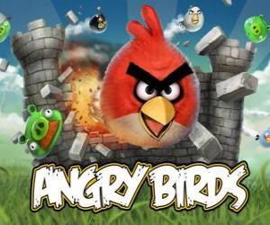 Puzle Angry Birds é um jogo de vídeo de Rovio. Os pássaros furioso atacan os porcos que rouban ovos