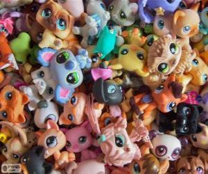 Puzle Animais de estimação da Littlest PetShop