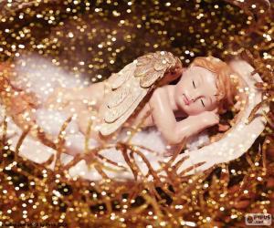 Puzle Anjo a dormir