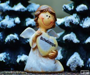 Jogos De Quebra Cabeca Da Anjos Do Natal Para Imprimir 2