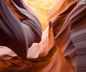 Puzle Antelope Canyon, Estados Unidos