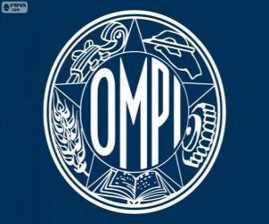 Puzle Antigo logo da OMPI, Organização Mundial da Propriedade Intelectual