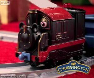 Puzle Antigo Pete, a locomotiva a vapor é o mais antigo chugger em Chuggington
