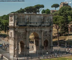 Puzle Arco de Constantino, Roma