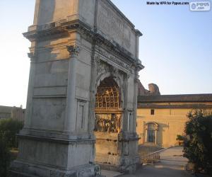 Puzle Arco de Tito, Roma