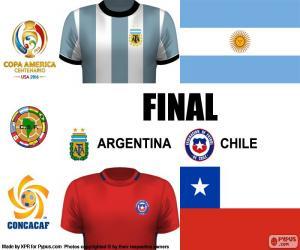 Puzle ARG-CHI final Copa América 2016