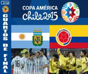 Puzle ARG - COL, Copa América 2015