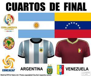 Puzle ARG - VEN, Copa América 2016