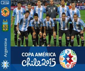 Puzle Argentina Copa América 2015