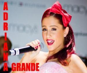 Puzle Ariana Grande é uma cantora americana