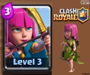 Puzle Arqueiras de Clash Royale