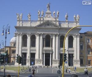 Puzle Arquibasílica de São João de Latrão, Roma