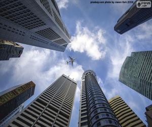 Puzle Arranha-céus de Cingapura