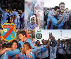 Puzle Arsenal Football Club, Campeão Clausura 2012, Argentina