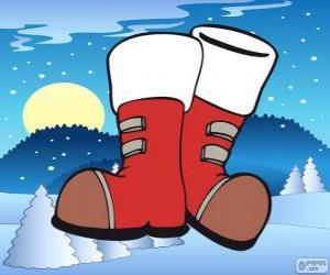Puzle As botas de Papai Noel