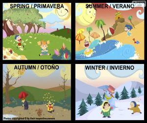 Puzle As estações do ano