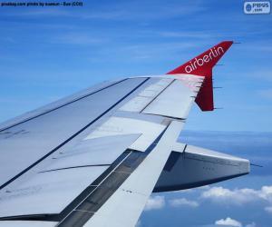 Puzle Asa de uma aeronave