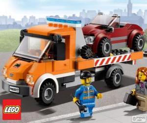 Puzle Assistência mecânica de Lego City