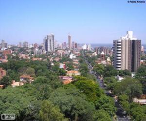 Puzle Assunção, Paraguai