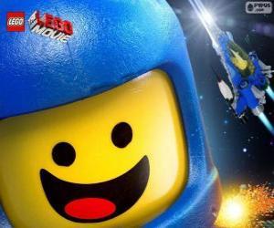 Puzle Astronauta Benny do filme Lego