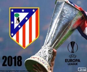 Puzle Atlético de Madrid, Europa League 2018