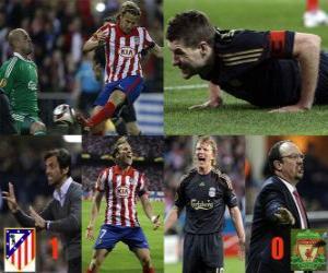 Puzle Atlético de Madrid 1 - FC Liverpool 0