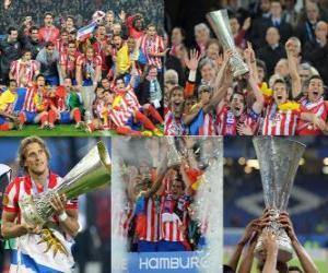 Puzle Atlético de Madrid campeão, Liga Europa 2009-10