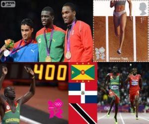 Puzle Atletismo 400m masculino LDN 12