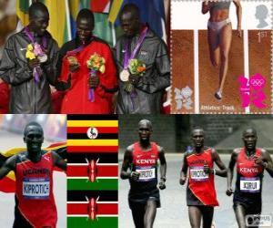 Puzle Atletismo maratona masculin LDN12
