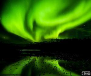 Puzle Aurora Boreal