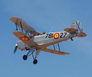 Puzle Avião antigo