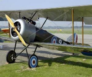 Puzle Avião vintage