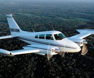 Puzle Avião com hélice