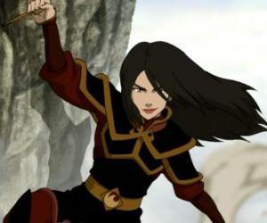 Puzle Azula é a princesa da Nação do Fogo e irmã mais nova de Zuko