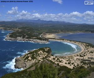 Puzle Baía Voidokiliá, Grécia