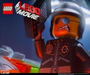 Puzle Bad Cop, o mau policial, o policial do filme Lego