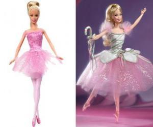 Puzle Bailarina Barbie